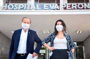 Giustiniani y Donnet piden garantizar el derecho de los trabajadores de la salud a percibir un salario justo