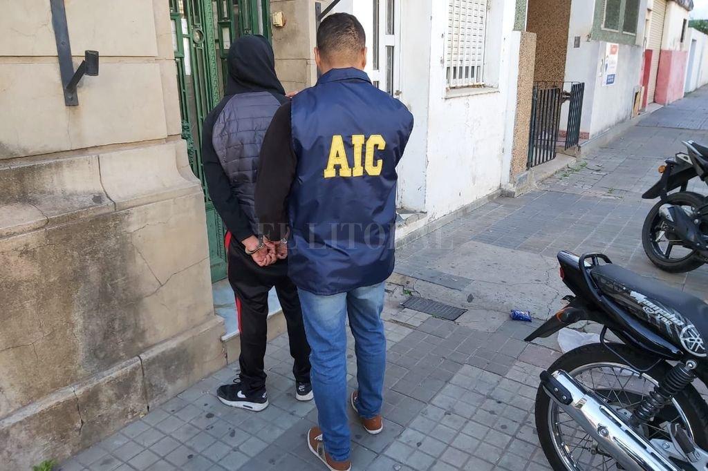 El joven fue detenido esta semana en un allanamiento. Crédito: Gentileza