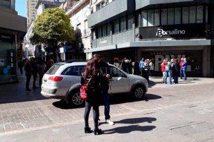 Rosario: protesta de comerciantes por no poder abrir sus locales