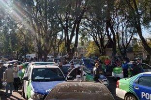 Otra protesta policial, esta vez en la provincia de Buenos Aires