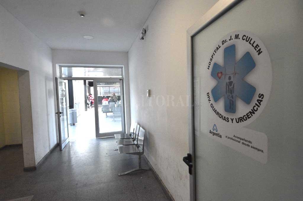 Los heridos fueron trasladados al Cullen Crédito: Flavio Raina