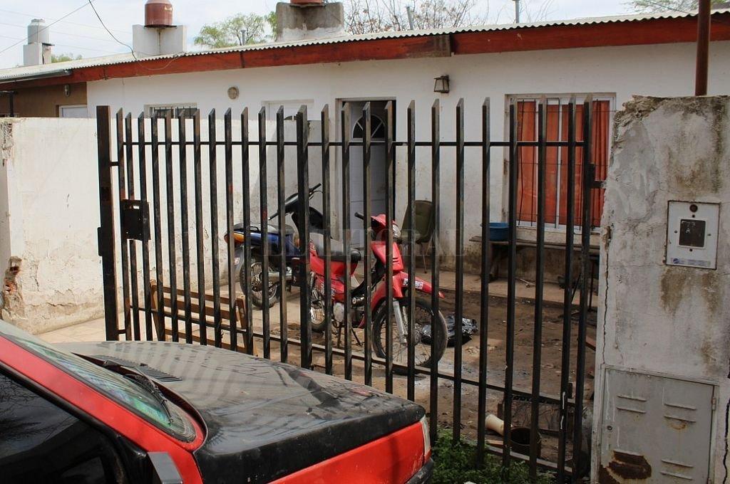 La casa familiar, donde se produjo el ataque a Facundo. Crédito: Gentileza