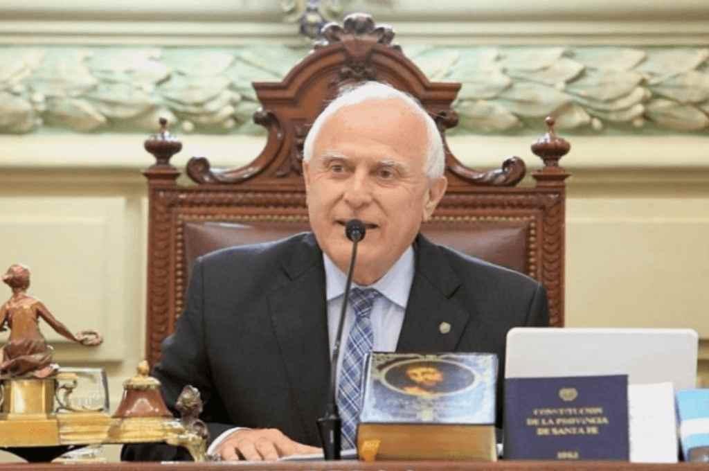 Miguel Lifschitz, presidente de la Cámara de Diputados   Crédito: Archivo