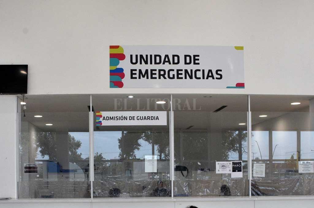 Los heridos fueron asistidos en el hospital Iturraspe Crédito: Guillermo Di Salvatore