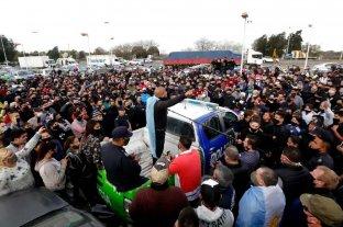 La protesta policial no frenó y se extiende al interior de la provincia de Buenos Aires