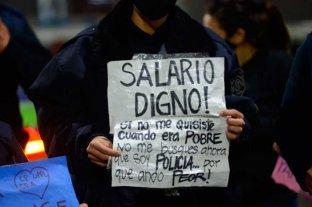 Policías bonaerenses buscan ganar lo mismo que los de ciudad de Buenos Aires