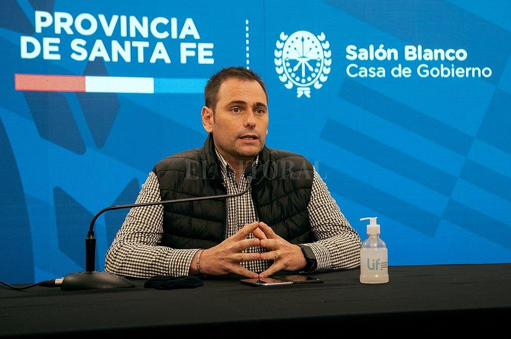 El secretario de Comercio Interior, Juan Aviano. Crédito: Gentileza
