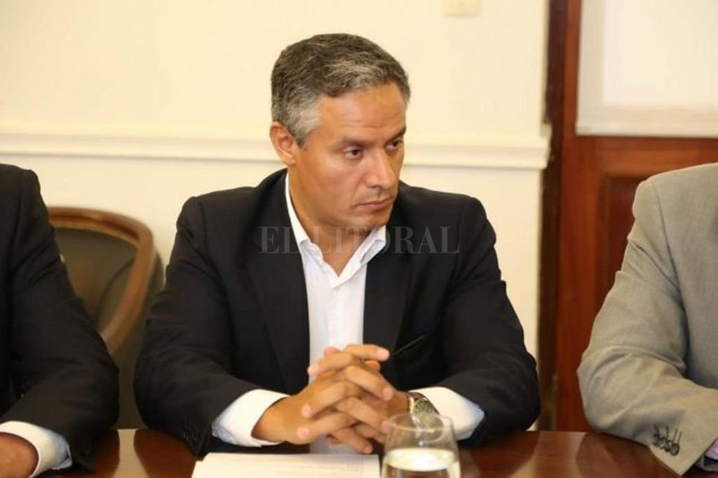 José Núñez diputado nacional del Pro Crédito: Archivo El Litoral