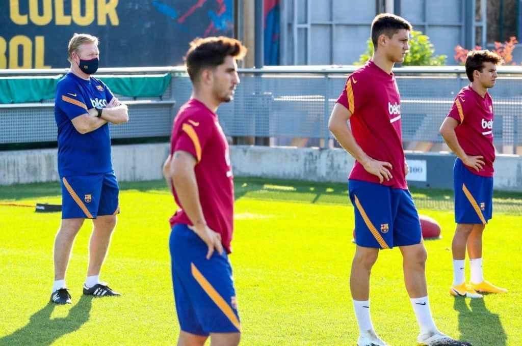 El nuevo Barcelona está en marcha. De la mano de Koeman, al que los jugadores ya apodan