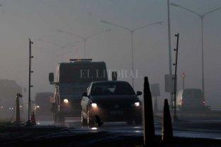 La niebla reduce la visibilidad en rutas de Santa Fe