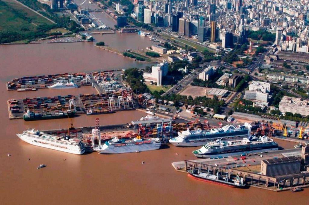 Puerto de Buenos Aires - Imagen ilustrativa Crédito: Gentileza