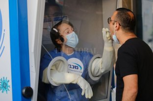 Israel registró un récord de contagios de coronavirus