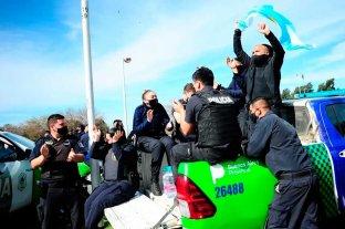 El reclamo policial sigue en Buenos Aires, pese al discurso del Presidente