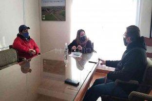 Borla visitó instituciones y mantuvo encuentros con autoridades comunales del sur y centro del departamento