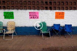 Se mantiene la protesta policial en Rosario
