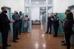 La provincia inauguró el centro de aislamiento para el personal policial en el ISEP de Recreo