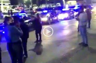 Rosario: manifestantes bloquearon por unos minutos la entrada de la URII