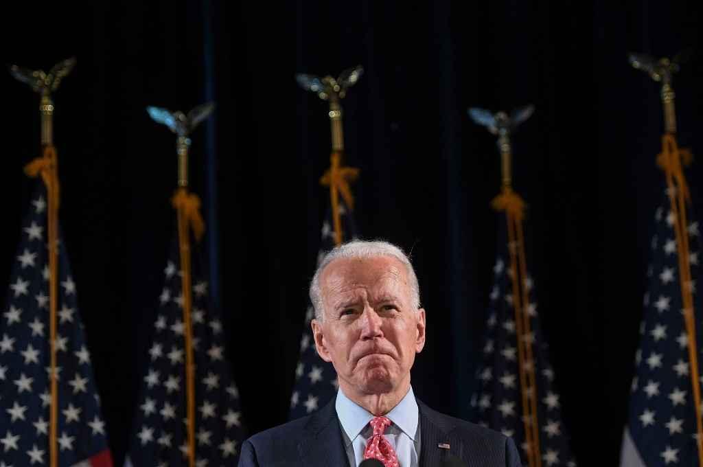Joe Biden, aspirante a la presidencia de Estados Unidos por el Partido Demócrata.