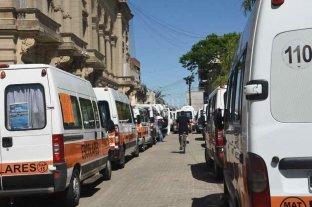 Transportistas escolares reclamaron una ayuda económica a Nación