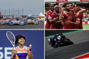 Horarios y TV: La agenda deportiva del fútbol, tenis, automovilismo y básquet