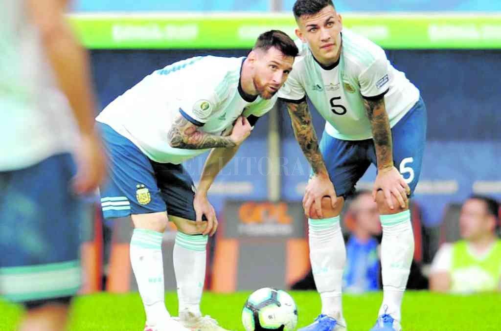 Espiando por las dudas. Más allá de que la sanción a Lionel Messi (foto) prescribió y podrá jugar frente al Ecuador de