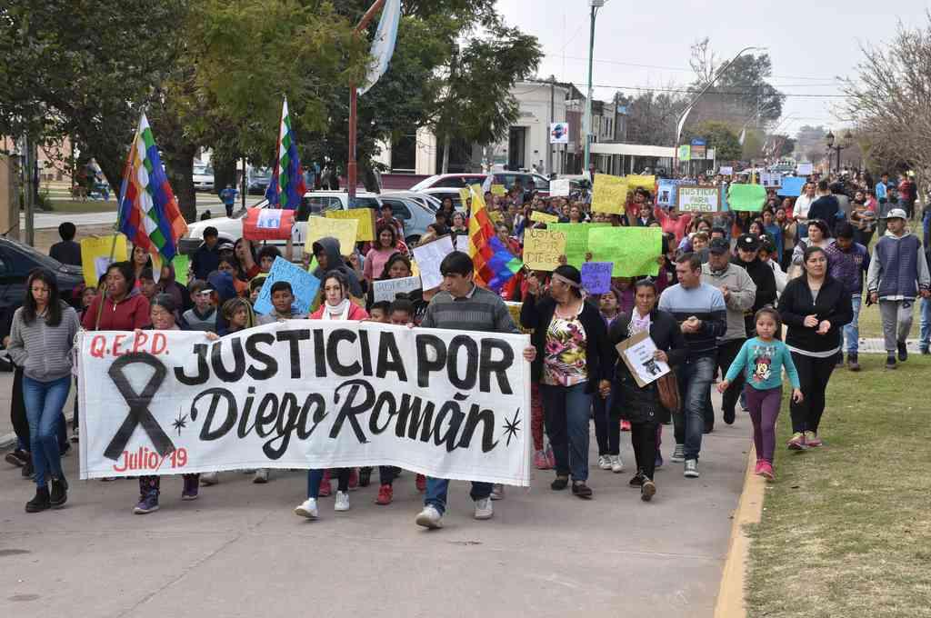Diego Román fue hallado sin vida en un descampado de calle Menchaca al 400 de la ciudad de Recreo, el 4 de julio de 2019. Crédito: Archivo El Litoral