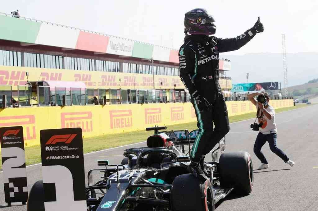 Hamilton va por una victoria en el circuito italiano. Crédito: Gentileza F-1