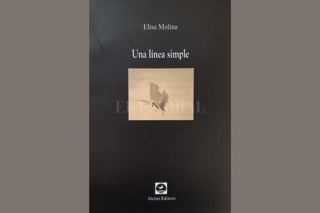 Una línea simple de Elisa Molina, publicado por Alción Editora. Crédito: Gentileza
