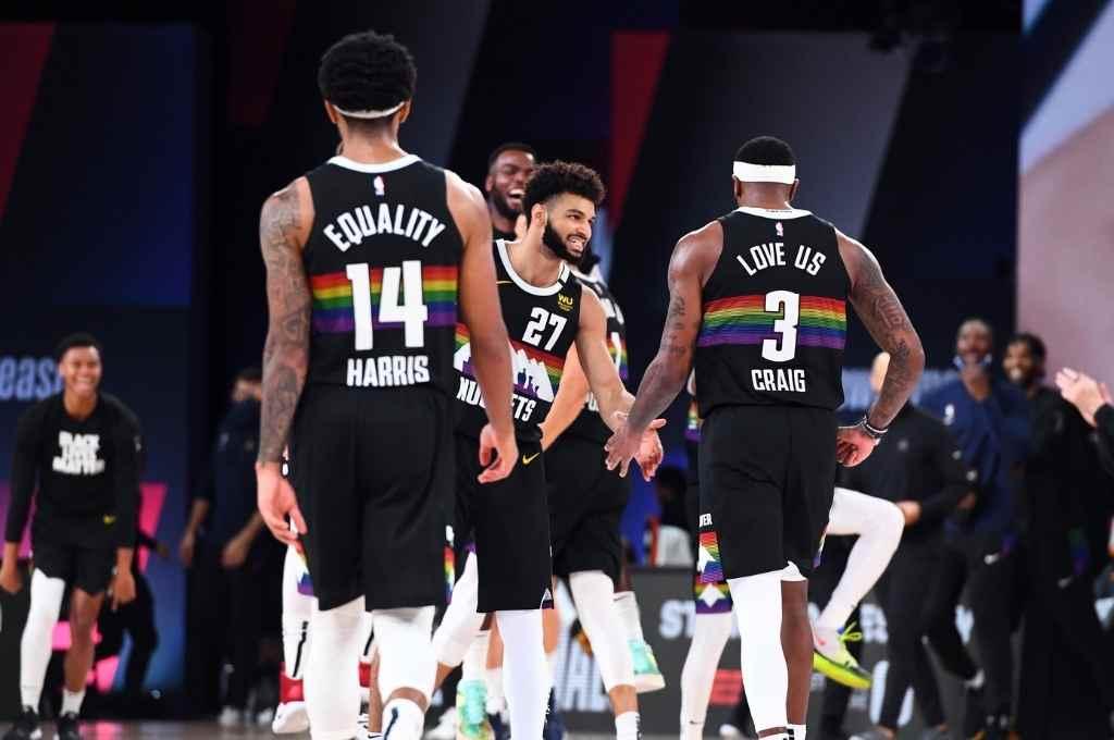 Denver Nuggets ganó el sexto juego e igualó la semifinal con LA Clippers.   Crédito: NBA