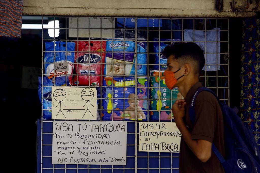 Imagen de Venezuela durante la pandemia del coronavirus. Crédito: dpa
