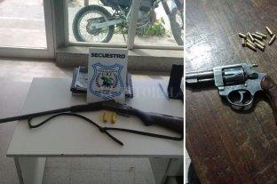 Importante secuestro de armas de fuego