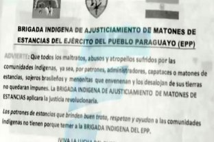 El EPP liberó en Paraguay al chofer pero no a Óscar Denis