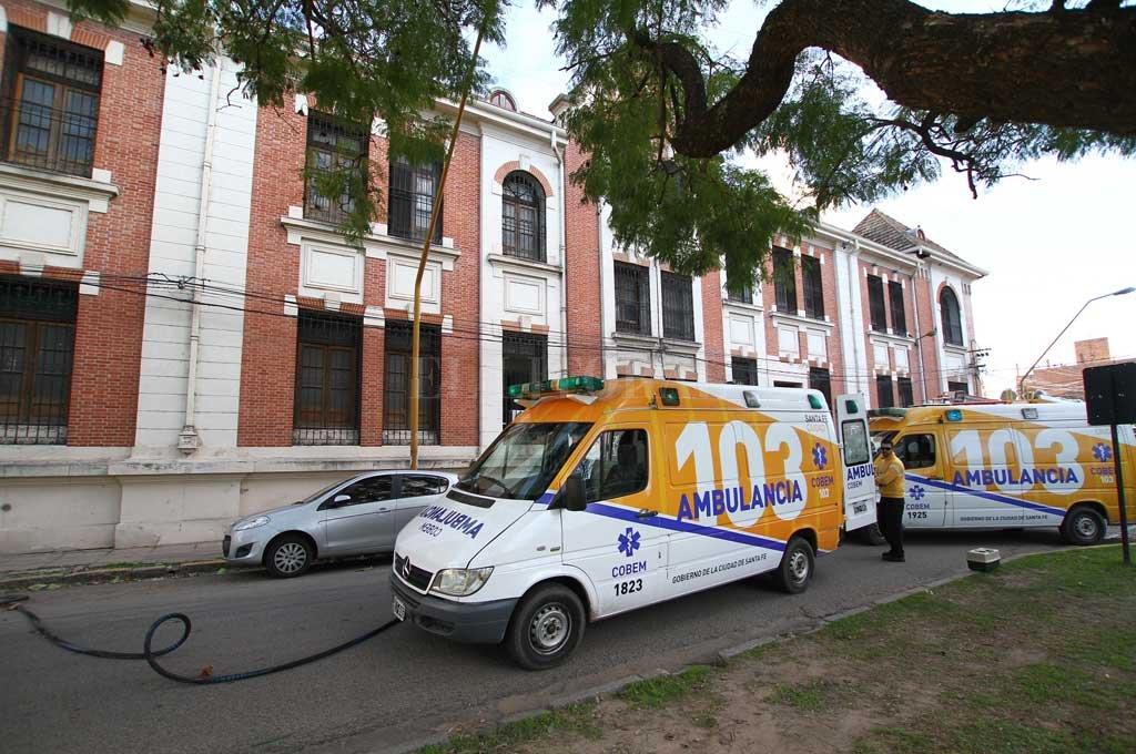 La mujer ya había sido trasladada a Santa Fe el año pasado y devuelta a Rosario tras los incidentes de junio de 2019. Crédito: Archivo El Litoral / Pablo Aguirre