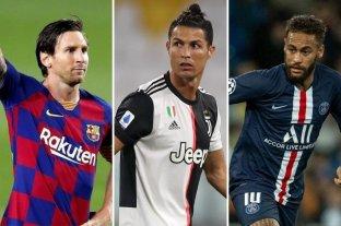En detalle: Los 10 futbolistas mejores pagos del mundo