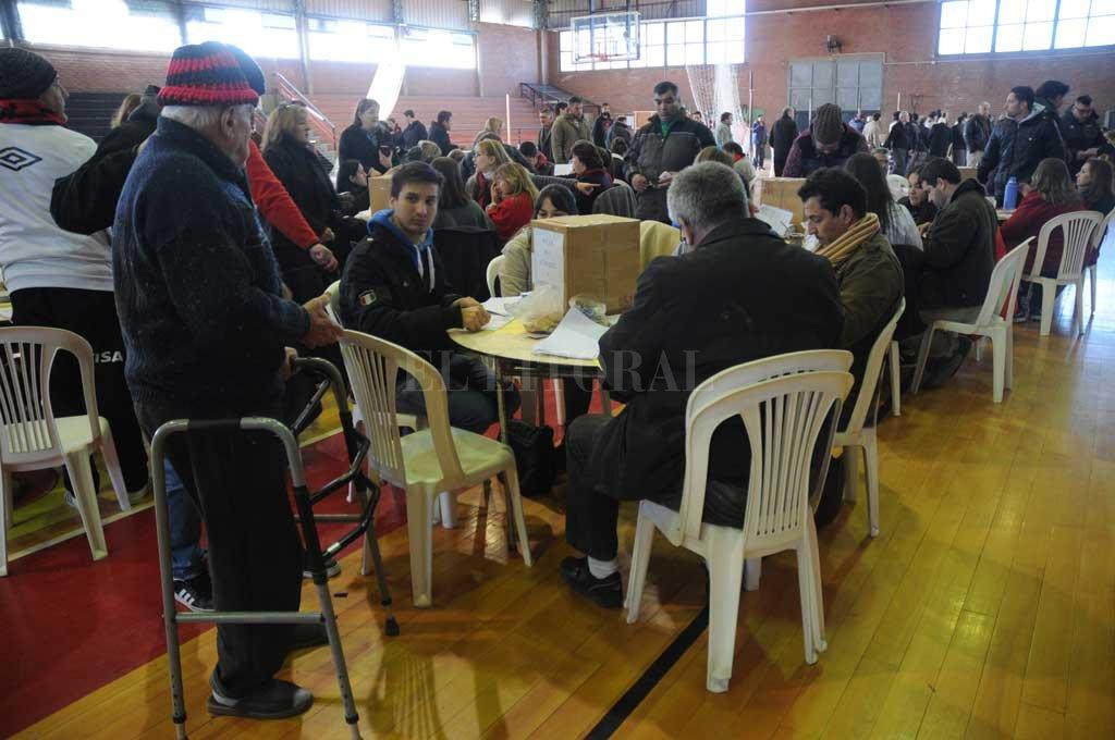 Por ahora, no podrá realizarse el acto eleccionario en Colón. Crédito: Archivo El Litoral