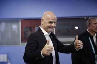 Infantino prometió ser firme con los clubes europeos