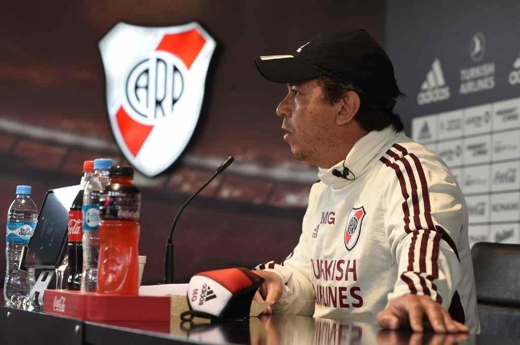 Marcelo Gallardo palpita el regreso de River a la competencia internacional. Crédito: Gentileza