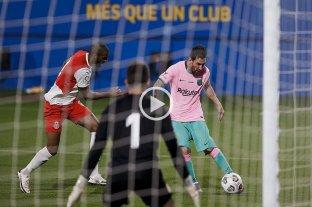 Con dos goles de Messi, Barcelona derrotó 3 a 1 a Girona en un amistoso