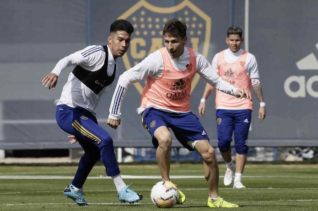 Boca va con todo el plantel pero sin el DT Russo a Paraguay.   Crédito: Gentileza