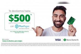 Banco Santa Fe y VISA promueven el uso de tarjeta de débito con importantes beneficios -