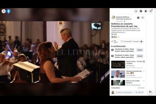 La estrategia de la Sinfónica para seguir cerca del público en las redes sociales - Compartir en redes, por tramos, conciertos completos de las últimas temporadas, fue una de las acciones pensadas por la Orquesta para seguir en contacto con los espectadores. -
