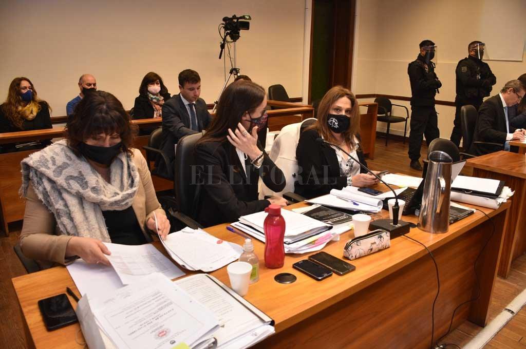 Se lleva adelante el juicio contra el único acusado en la causa Crédito: Flavio Raina
