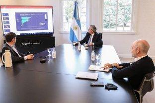 Fernández convocó a Kicillof y Rodríguez Larreta para definir cómo sigue la cuarentena