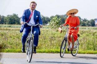 Máxima y Guillermo de Orange, los reyes de la bicicleta