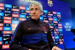 Quique Setién llevaría al Barça a los tribunales