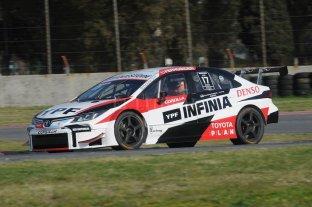 Matías Rossi consiguió el tiempo más rápido en las pruebas del Super TC2000