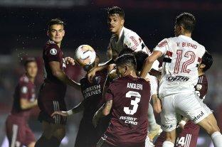 River empató 2 a 2 con San Pablo en Brasil