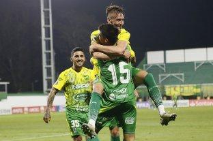 Defensa y Justicia goleó a Delfín de Ecuador y alcanzó su primer triunfo en la Copa Libertadores