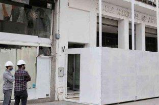 Avanzan las tareas de refacción del Museo Municipal de Artes Visuales