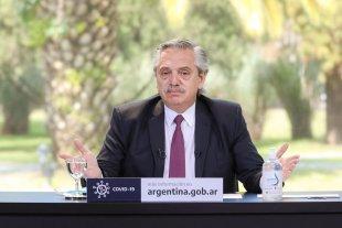 """Alberto Fernández sobre el coronavirus: """"Estamos muy lejos de superar el problema"""" -  -"""